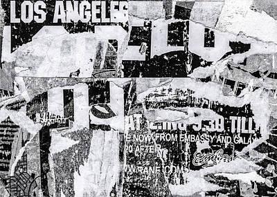 Mixed Media - Los Angeles by Roseanne Jones
