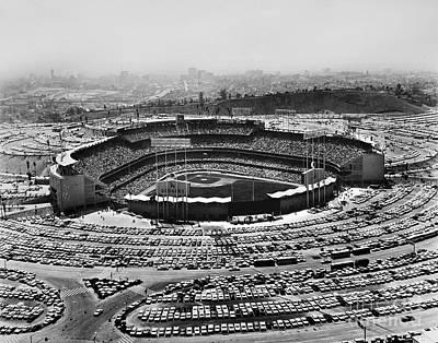 Los Angeles: Stadium, 1962 Art Print by Granger