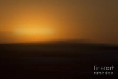 Los Angeles Sunrise Abstract Art Print