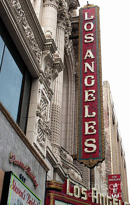 Photograph - Los Angeles Theater by Gregory Dyer