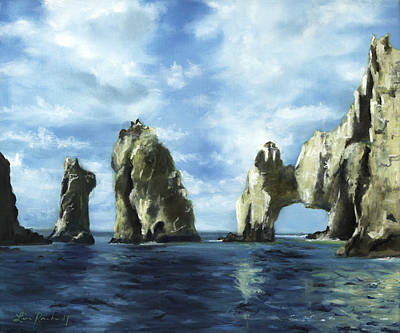Painting - Los Arcos by Lisa Reinhardt