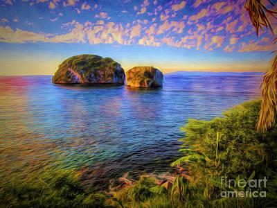 Photograph - Los Arcos Near Sunset  ... by Chuck Caramella
