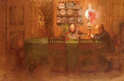 Los Deberes 1898 Art Print