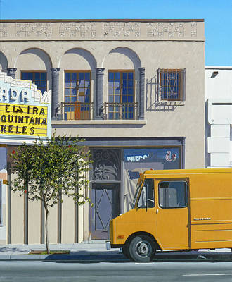 Mellow Yellow - Los Laureles by Michael Ward