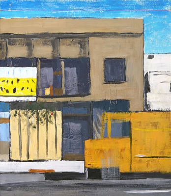 Michael Ward Painting - Los Loreles by Michael Ward
