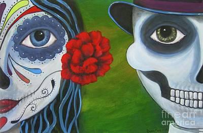 Painting - Los Novios by Sonia Flores Ruiz