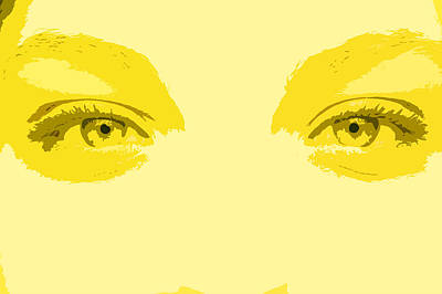 Fotography Digital Art - Los Ojos by Diana Maria Parra