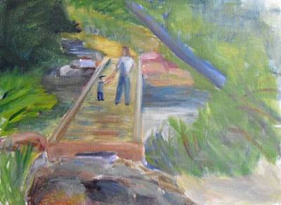 Painting - Los Penasquitos Good Times by Jeremy McKay