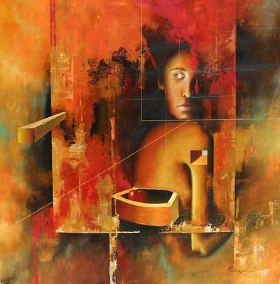 Los Secretos Art Print by Santiago Polvos