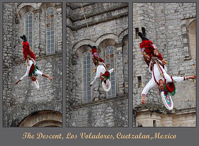 Photograph - Los Voladores Mexico by George Olney