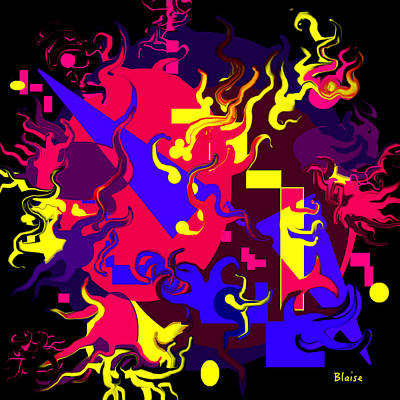 Digital Art - Loss Of Equilibrium by Yvonne Blasy