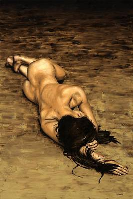 Babe Painting - Loss by Richard Young