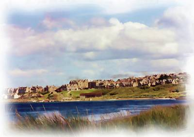 Digital Art - Lossiemouth Bay by JLowPhotos