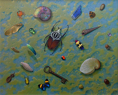 Painting - Lost  And Found by Tuco Amalfi