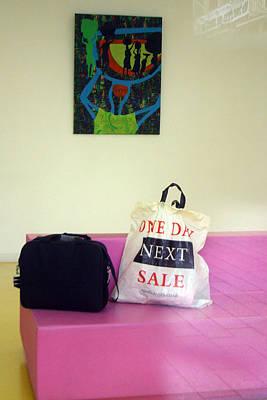 Lost Bags Art Print by Jez C Self