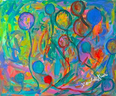 Painting - Lost Balloons by Kendall Kessler