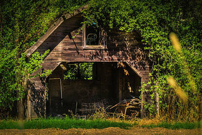 Photograph - Lost Barn by Garry Gay