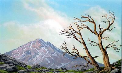 Pacific Crest Trail Painting - Lost Battle by Frank Wilson