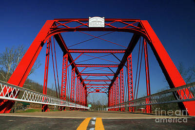 Lost Bridge Art Print