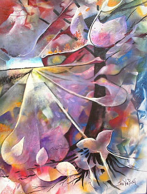 Painting - Lost Butterflys by Jan VonBokel