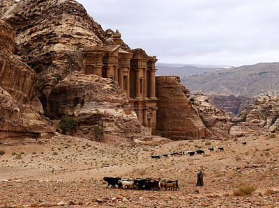 Brindle Photograph - Lost City Of Petra by Scott Brindle