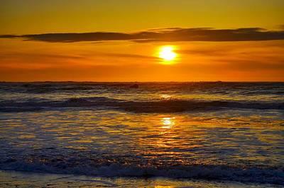 Lost Coast Sunset Art Print