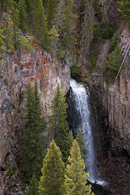 Photograph - Lost Creek Falls by Steve Stuller
