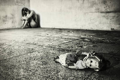Doll Photograph - Lost Doll by Stefano Miserini