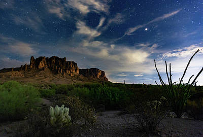 Photograph - Lost Dutchman by Tassanee Angiolillo