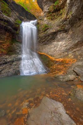 Buffalo National River Photograph - Lost Falls by Ryan Heffron