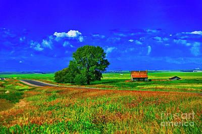 Photograph - Lost Farm by Rick Bragan
