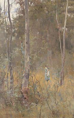 Australian Landscape Painting - Lost by Frederick McCubbin