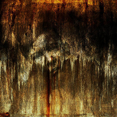 Warm Colors Painting - Lost by Heike Hultsch