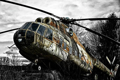 Tat Photograph - Lost Helicopter by Joachim G Pinkawa