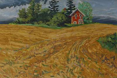 Painting - Lost Homestead by Phil Chadwick