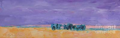 Lost Horizon Art Print by Marsha Heimbecker