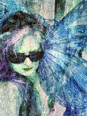 Digital Art - Lost In A Lucid Faerie Dream by Absinthe Art By Michelle LeAnn Scott