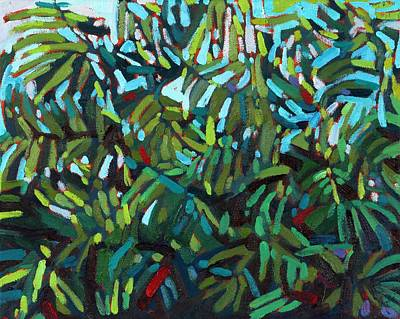 Painting - Lost In Leaves by Phil Chadwick