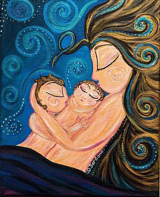 Tenderness Painting - Lost In Love by Dana Sardano