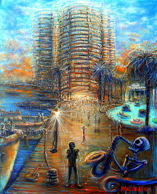 Painting - Lost In Miami by Heather Calderon