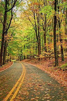 Autumn Photograph - Lost In Pennsylvania by Steve Harrington