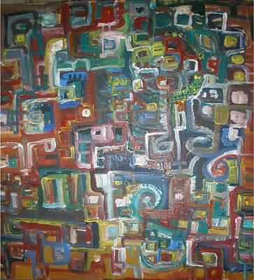 Lost In The Labyrinth Art Print by Philip Arnzen-Jones