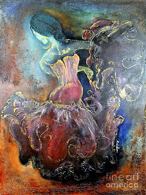 Painting - Lost In The Motion by Farzali Babekhan
