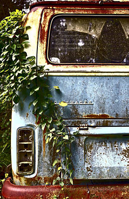 Rural Decay Photograph - Lost In Time by Carolyn Marshall