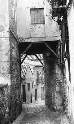 Photograph - Lost In Toledo II High Key by Joan Carroll