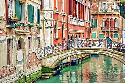Lost In Venice Art Print