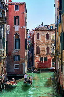 Photograph - Lost In Venice by Fine Art Photography Prints By Eduardo Accorinti
