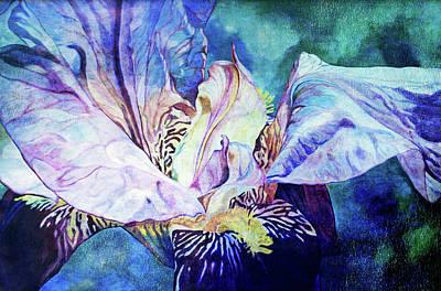 Lost Iris Passion 93 L_2 Art Print