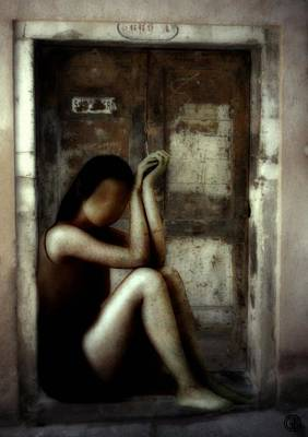 Indifference Digital Art - Lost Key by Gun Legler