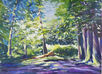 Painting - Lost Lake by Becky Chappell